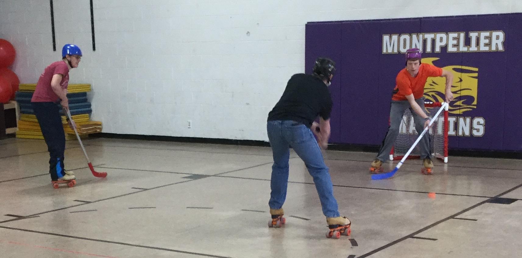 rollerskate hockey