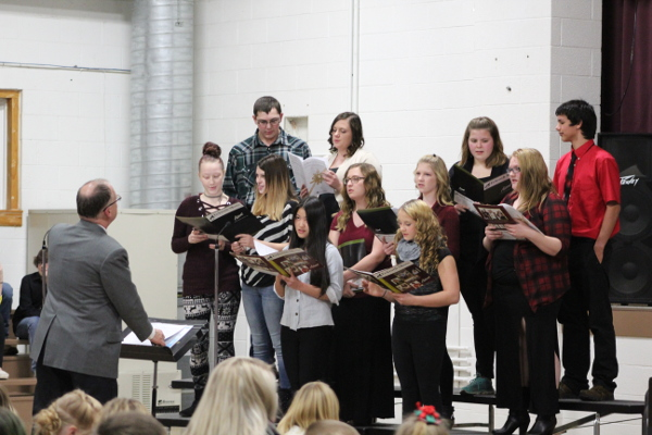 high schoolchoir